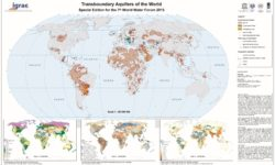 Most recent (2015) global map of transboundary aquifers (Credit: IGRAC and UNESCO-IHP)